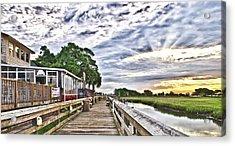Marsh Walk 1 - Murrells Inlet Acrylic Print