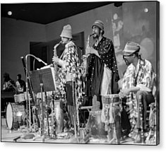 Marshall Allen And Danny Davis Acrylic Print by Lee  Santa