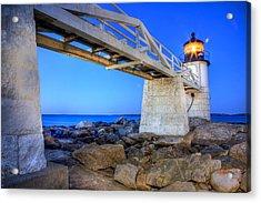 Marshall Point Light Acrylic Print