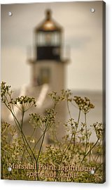 Marshall Point Lighthouse Acrylic Print