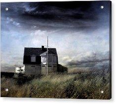 Marshall Point Acrylic Print by Louise Kumpf