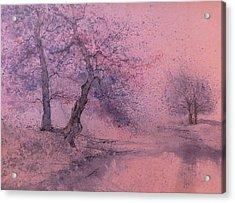 Marshell Creek IIII Acrylic Print by Anna Sandhu Ray