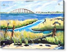 Marshes Acrylic Print