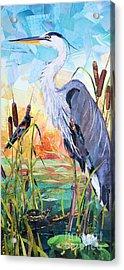Marshland Moring Acrylic Print