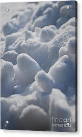 Marshmallow Mounds Acrylic Print by Susan Hernandez