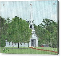Martha Mary Chapel Acrylic Print