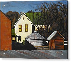 Martha Used To Live Here Acrylic Print