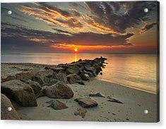 Marthas Vineyard Sunrise Acrylic Print