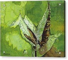 Martian Maize Acrylic Print