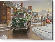 Martin C. Cullimore Tipper. Acrylic Print by Mike  Jeffries