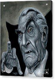 Martin Landau As Bela Acrylic Print