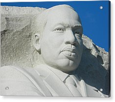 Martin Luther King Jr Memorial Acrylic Print by Emmy Marie Vickers