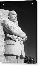 Martin Luther King Jr. Statue Acrylic Print by Celso Diniz