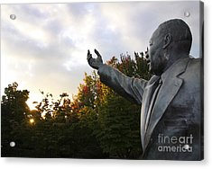 Martin Luther King Jr Statue Acrylic Print