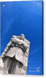 Martin Luther King Acrylic Print by Olivier Le Queinec