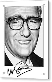 Martin Scorsese Acrylic Print