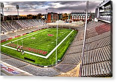Martin Stadium At Washington State Acrylic Print by David Patterson