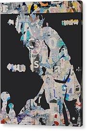 Martina Navratilova Acrylic Print by Shawn Hughes