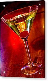 Martini At The Local Pub Acrylic Print