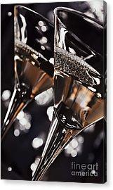 Martini Glasses Acrylic Print by Jelena Jovanovic