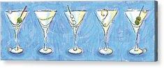 Martini Lunch Acrylic Print