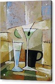 Martini Acrylic Print by Lutz Baar