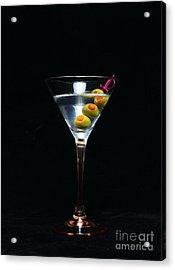 Martini Acrylic Print by Paul Ward
