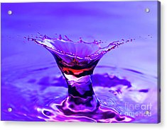 Martini Splash Acrylic Print