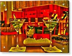 Martini Time Acrylic Print