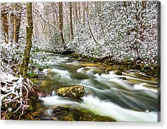 Martins Fork Winter Acrylic Print