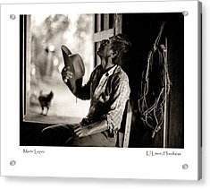 Acrylic Print featuring the photograph Martir Lopez by Tina Manley