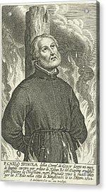 Martyrdom Of Jesuit Carlo Spinola In Nagasaki Acrylic Print