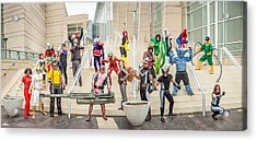 Marvel Universe C2e2 2013 Acrylic Print by Andreas Schneider