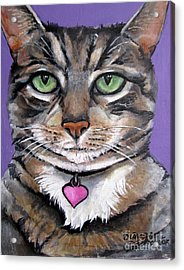 Marvelous Minnie The Gallery Cat Acrylic Print