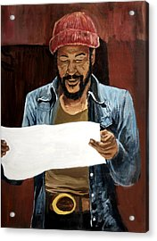 Marvin2 Acrylic Print by Roger  James
