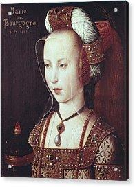Mary 1457-1482. Duchess Of Burgundy Acrylic Print by Everett