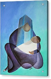 Mary And Messiah Acrylic Print