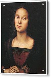 Mary Magdalen Acrylic Print by Pietro Perugino