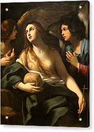 Mary Magdalene Between Two Angles Acrylic Print