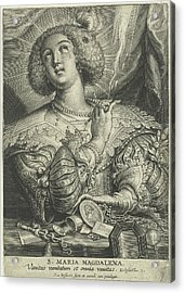 Mary Magdalene Gets Rid Of Its Wealth Acrylic Print