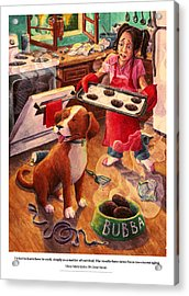 Mary Mary Quite On Great Meals Acrylic Print by David Condry