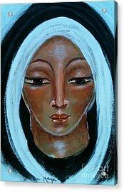 Mary Acrylic Print by Maya Telford