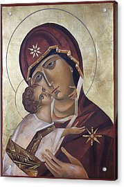 Mary Of Valdamir Acrylic Print by Mary jane Miller