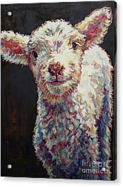 Mary Acrylic Print by Patricia A Griffin