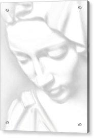 Mary Pieta Acrylic Print by Tony Rubino