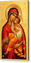 Mary The God Bearer Acrylic Print