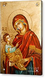 Mary With Jessus R.1 Acrylic Print