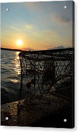 Maryland Crabber's Horizon Acrylic Print