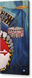 Maryland Drums Acrylic Print by Kate Fortin