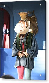 Maryland Renaissance Festival - A Fool Named O - 121211 Acrylic Print by DC Photographer